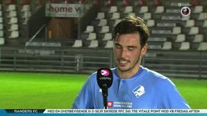 Randers-målscorer efter sejr: 'Ingen kan sige det ikke var fortjent - Vi var klart bedre end Vejle'