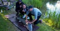 'Det er jo en hval' Sat Af-drengene fanger kæmpe fisk med Philip Billing