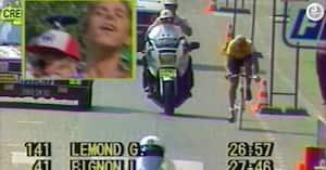 Sportens store øjeblikke: Da comeback-kid vandt choksejr i Tour de France foran fransk legende i Paris