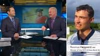 Højgaard hyldet i amerikansk tv: 'Hvilken måde at vinde på - hans fremtid ser lys ud'