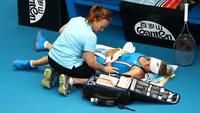 'Jeg tror ikke, der var noget galt' - Wozniacki beskylder modstander for at simulere skade