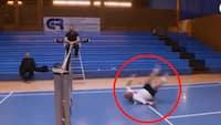 RETRO - 'Tøffe' i badmintonBRAG mod Camilla Martin: 'Jeg har fået en fiber i ryggen, mand'