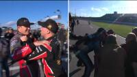 Husker du? Haas-kører ryger i slåskamp efter crash – Se balladen her