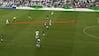 MÅL! Fischer med perfekt stikning i dybden - Bengtsson banker den ind til 1-0