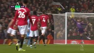 Klassemål på Old Trafford! Rodriguez hakker den helt op i hjørnet - De Gea flagrer forgæves
