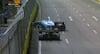Gult flag i Singapore: Grosjean i sammenstød - Russell ender i væggen