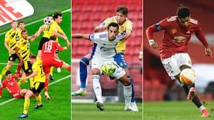 Drømmedage for fodboldelskere: Sådan sender vi weekendens tre store rivalopgør på Viaplay & TV3+