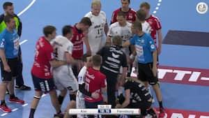 AV: Da superstjernen hamrede bold lige i hovedet på dansker  - rejste sig som en groggy bokser