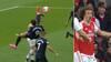 Everton-lynmål! David Luiz' clearing går helt galt - akrobatisk Calvert-Lewin sparker i kassen