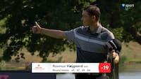 Højgaard imponerer igen: Går syv slag under par og deler tredjepladsen ved English Championship