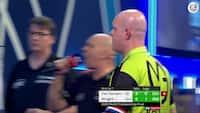 Uha! Van Gerwen er SÅ tæt på 9-darter i VM-finalen