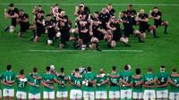 Så du det: Haka næsten overdøvet af skrålende irske fans