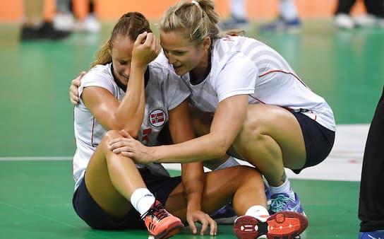 Norge tangerer ikke dansk rekord: Overtidsdrama sender norske jenter ud af OL-guldkamp