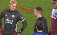 'What a prick' - fans kritiserer Kasper Schmeichel for aggressiv opførsel overfor dommere