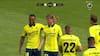 Hedlund tager chancen udefra og bringer Brøndby foran mod Lyngby - se scoringen her