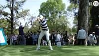 Se Rory McIlroy spille sig på green med 410-yard drive