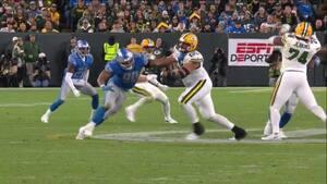 Tre kontroversielle dommerkald i fjerde quarter hjalp Packers til sen sejr i Detroit - se dem her