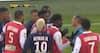 RØDT KORT: Reims-midtbane mister hovedet efter dribletur og saver PSG-stjerne midt over