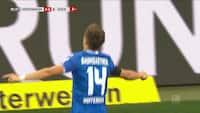 Skov leverer fremragende assist - Baumgartner bringer Hoffenheim på 2-0