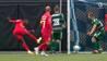 'Blændende mål!': FC Nordsjælland kombinerer sig gennem Græsrødderne-forsvaret - se det her