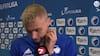 Nelsson: 'Da de får det røde kort, tænker vi, at vi kan vinde den i ordinær spilletid'