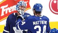 Auston Matthews leverer målshow - og Frederik Andersens rival står i buret til 11. sejr på stribe for Maple Leafs