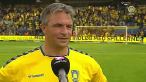 Måltyven Ruben Bagger var legende-kampens bedste: 'Jeg har altid elsket at spille her'