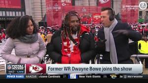 Tidligere Chiefs-receiver, Dwayne Bowe, gik, da Chiefs var bagud 10-20 - 'Jeg så resten af kampen derhjemme'