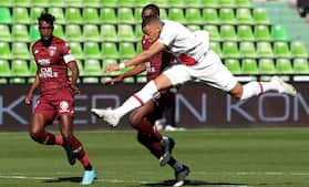 Mbappé dobbelt målscorer før CL-semifinale, men måtte forlade banen med skade: Se alle målene fra PSG's 3-1 sejr over Metz