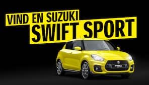 Fantastisk F1-konkurrence: Vind en Suzuki Swift Sport