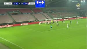 Åh nej: Slavia straffer FCM med CHOK-scoring efter 2 minutter