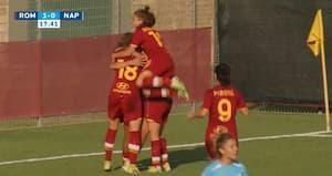 Roma slår Napoli i målrigt opgør