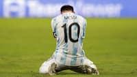 Lionel Messi vinder sit første trofæ med Argentina - se de vilde scener