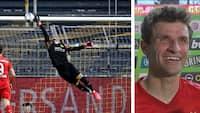 'Dortmund-keeper har måske ikke de længste arme' - Müller antyder, at Bayern-spillerne havde forberedt sig på at chippe Bürki