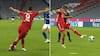 Det glade vanvid: Lewandowski sjusker i feltet - så laver han sublim rabona-assist til Müller