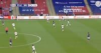 'EJ, HVOR SKAL JEG RAMME DIG, MAN' - Dalsgaard lader alle høre sine frustrationer på Wembley