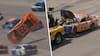 Uhyggeligt crash i Nascar: 'Jeg er glad for at være i live'