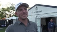 Matt Wallace med i toppen ved PGA Championship: 'Alt under par er godt på denne bane'