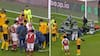 Grimme billeder: Premier League-profiler smadrer hovederne sammen i uheldigt sammenstød