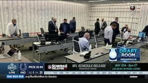 'Det var dog vanvittigt' - Er det her det vildeste draft room nogensinde?