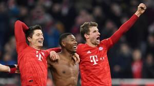 Lad op til Der Klassiker: Bayern spillede Dortmund ud af banen i sæsonens første møde - Se højdepunkterne her