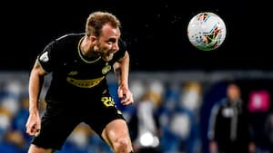 Eriksen scorede på hjørnespark for Inter efter to minutter - men Napoli er klar til pokalfinalen