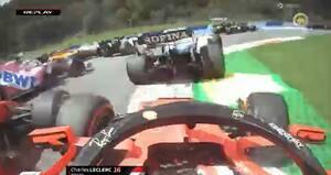 'Kæmpe fadæse': Da Leclerc kørte sig selv og Vettel ud af løbet i Østrig