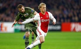 Ajax er videre i Europa League efter smal sejr