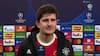 Maguire: 'Vi kunne nemt score fire-fem mål i første halvleg'