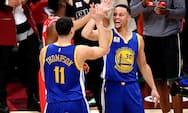 Curry og Thompson smadrer Cleveland i NBA-finale