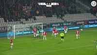 Brandhof er brandvarm - Viborg brager sig foran med to hurtige scoringer