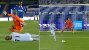 Brighton dummer sig - Jorginho sender Chelsea på 1-0