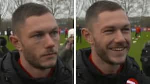 Henrik Dalsgaard tænker tanken om EM-kampe i Parken - så lyser han op i et kæmpe smil