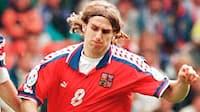 EM-minder: Karel Poborskys flabede lob sendte tjekkerne mod semifinalen i 1996